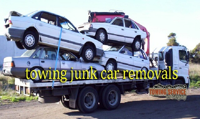 towing junk car removals